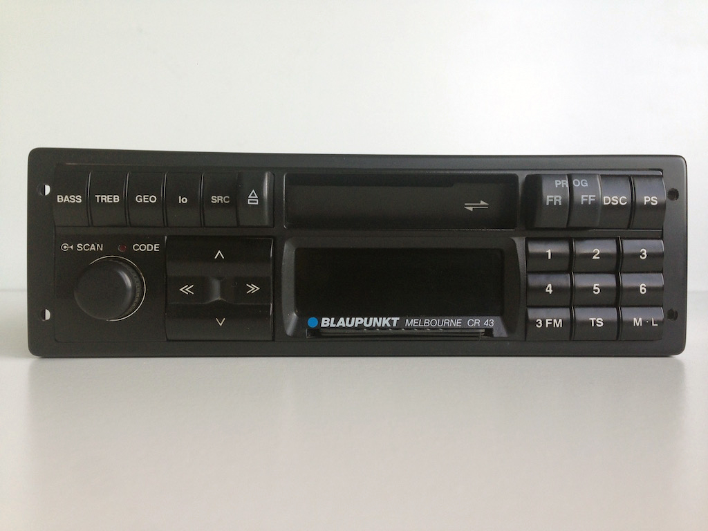 Blaupunkt Melbourne CR 43 | Original classic car radios.
