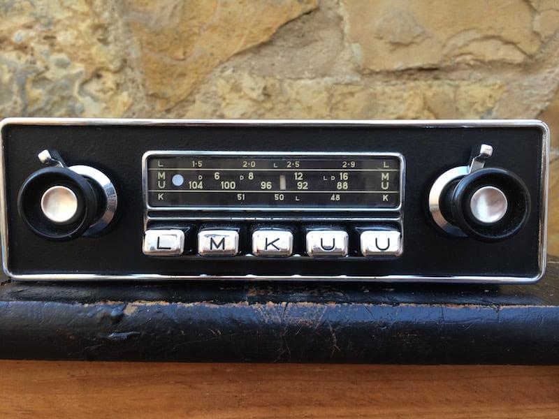 blaupunkt koblenz de luxe original classic car radios. Black Bedroom Furniture Sets. Home Design Ideas