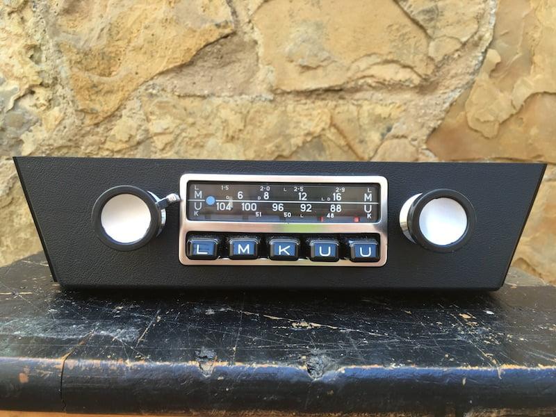 Bmw 2002 Tii For Sale >> Blaupunkt Frankfurt BMW 2002 02 ti tii | Original classic car radios.