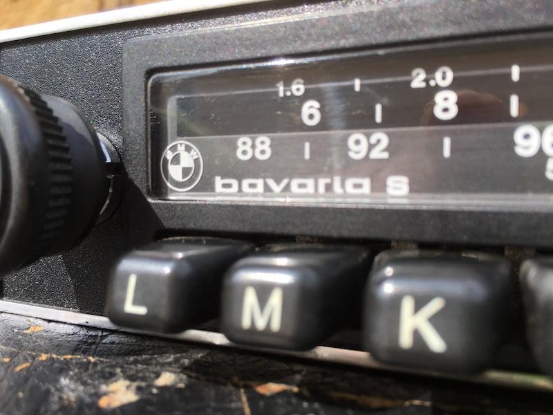 Blaupunkt BMW Bavaria 70\'s & early 80\'s radio | Original classic car ...