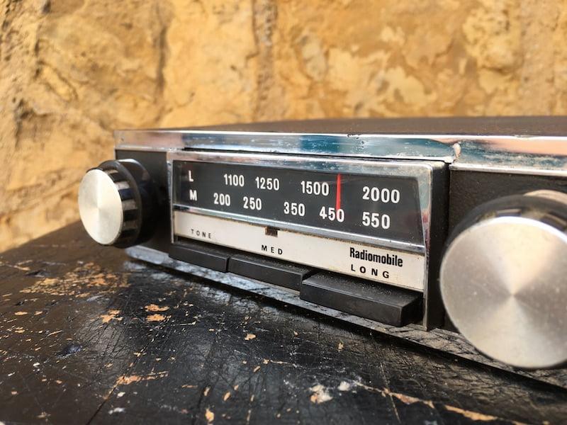 Radiomobile Model 80 Original Classic Car Radios